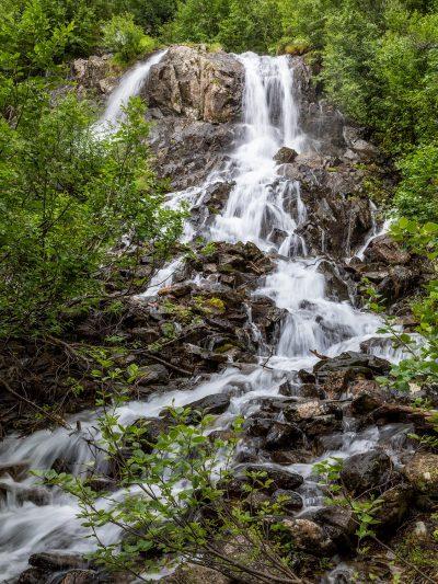 Wasserfall am Duisitzkarsee