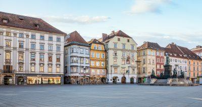 Hauptplatz Graz für 9 Plätze - 9 Schätze, Graz